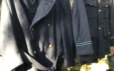 Raf uniform met overjas