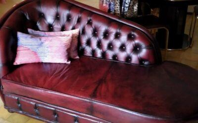 Lederen sofa