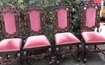 4 mechelse stoelen