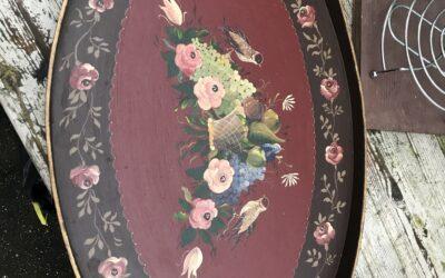 Beschilderd dienblad